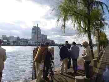 2011.12.4 「大橋川を見て歩こう」に参加