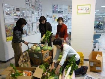 2012.12.23 福島に野菜を送る会