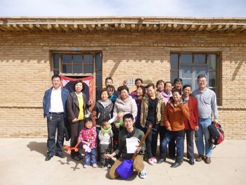2013.3.19 中国塩池県の農村を訪問
