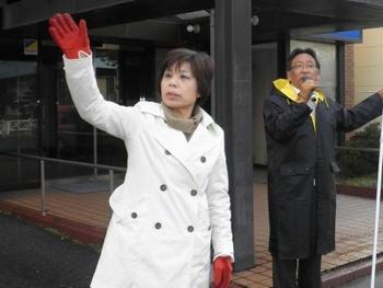 2011.03.24朝の街宣活動