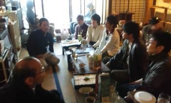 2011.4.23島大学生と交流