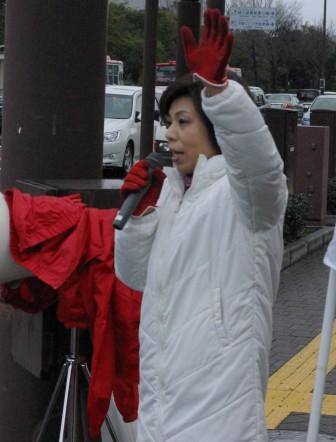 2011.03.02朝の街宣活動