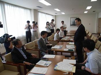 2011.6.28  調査チーム発足