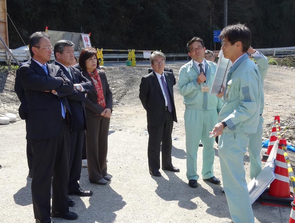 2014.3.17~18 建設環境委員で災害調査
