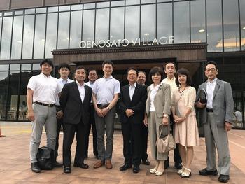 2017.7.26 鳥取県議会と合同研修